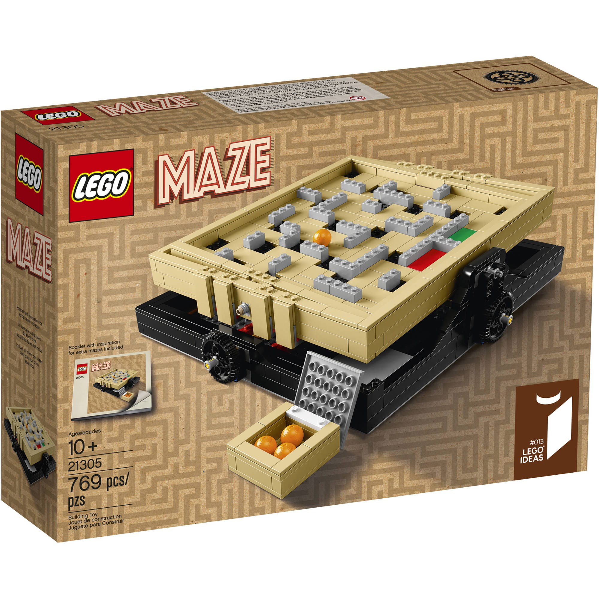LEGO Ideas Maze Set  $49 + Free Store Pickup