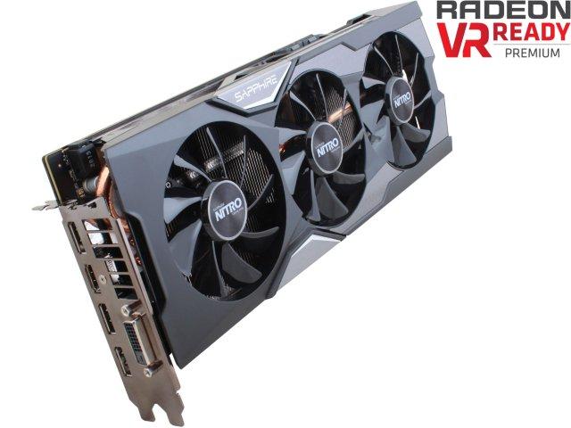 AMD SAPPHIRE NITRO Radeon R9 Fury video card gpu 100379NTOC+SR 4GB $254.00 with masterpass promo newegg