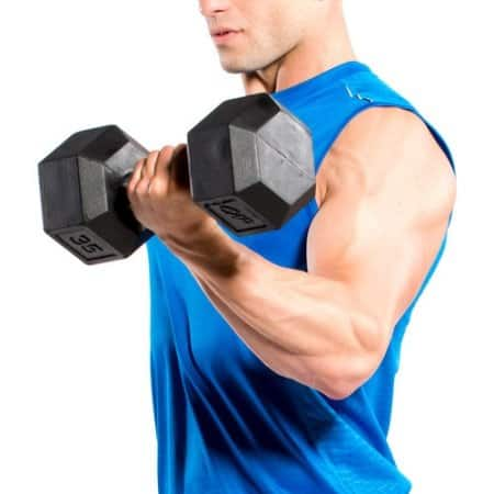 CAP Barbell Rubber Coated Hex Dumbbells on Sale