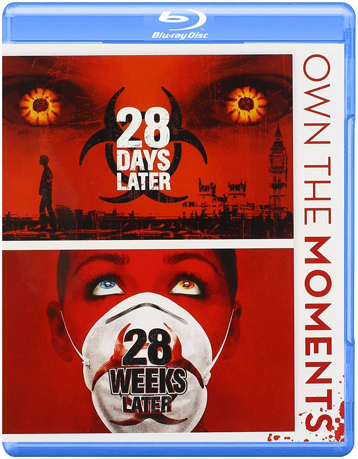 28 Days later / 28 weeks later combo Blu Ray on Amazon.com for $7.88