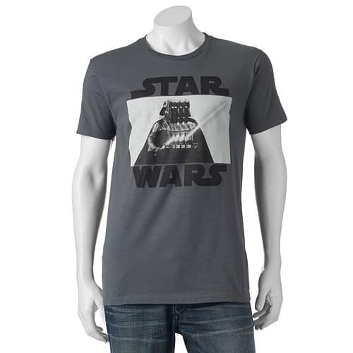 Kohl's Cardholders: Men's Graphic Tees 9 for $30.74 ($3.45 each when you buy 9) or $4.20 each (Star Wars, Independence Day, Marvel Captain America, More)