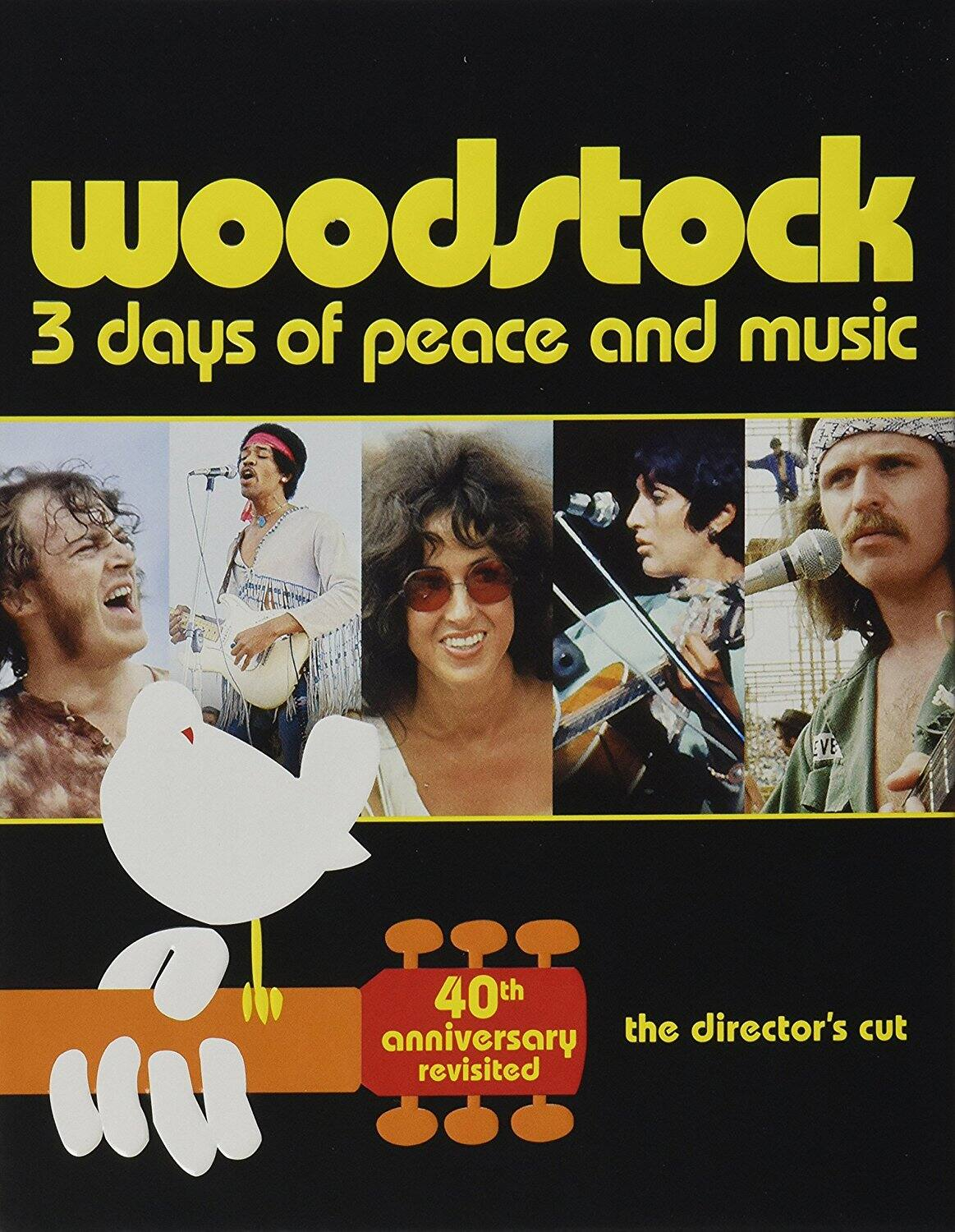 Woodstock 3 Days of Peace & Music 40th Anniversary Limited Edition Revisited (3-Disc Blu-ray) $5 @ Amazon & Walmart
