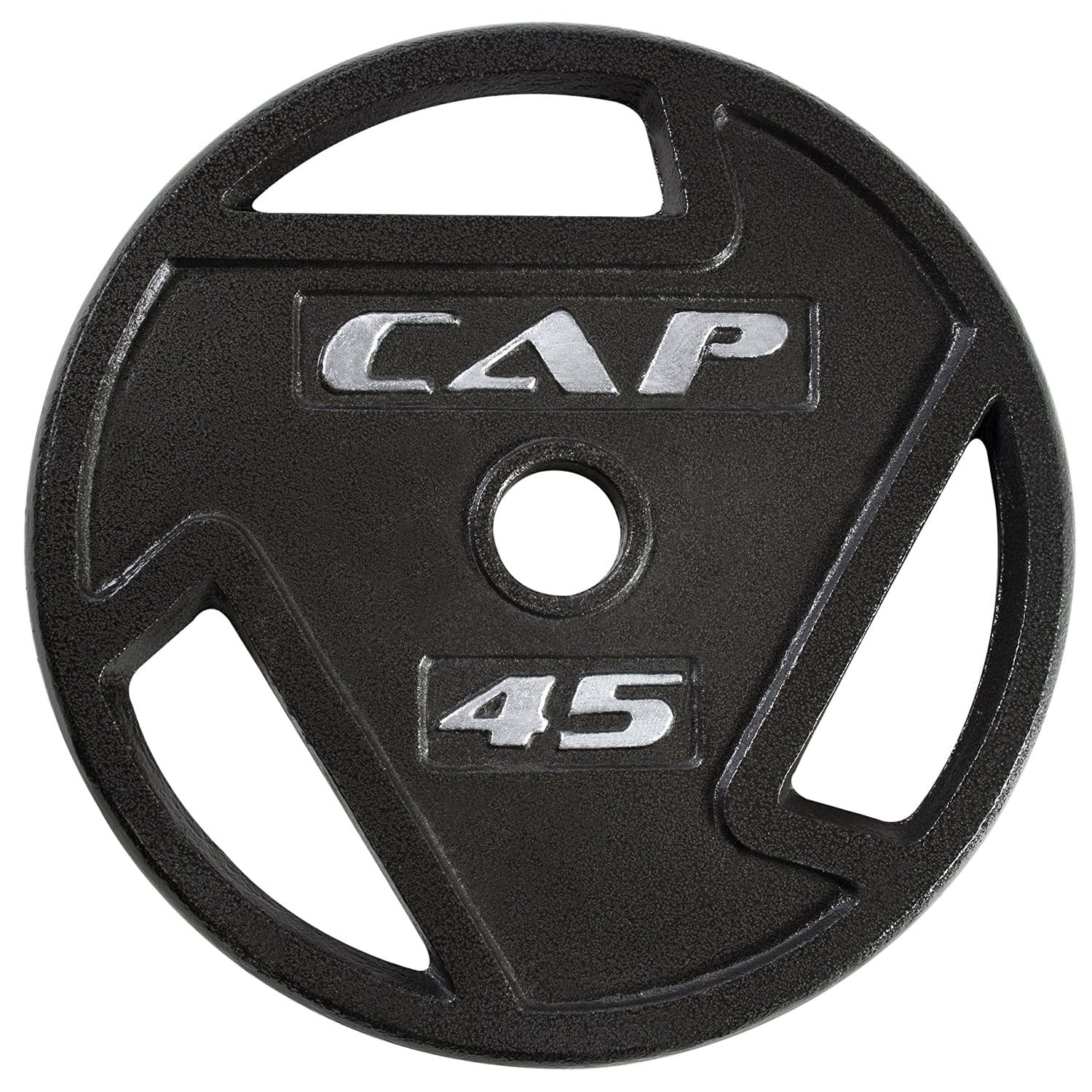 CAP Barbell 2-Inch Olympic Grip Plate 45 lbs $31