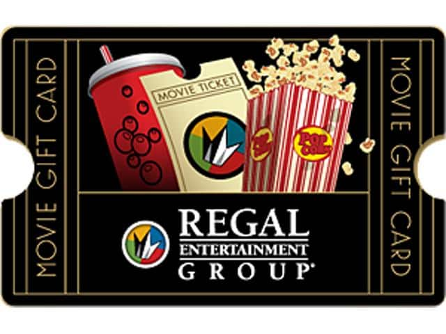Regal $25 Gift Card (Email Delivery) for $20.00 @ Newegg.com