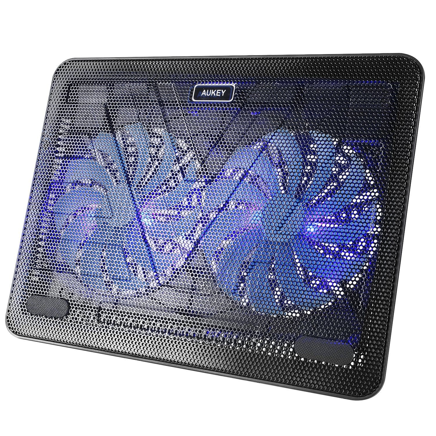 Aukey Laptop Cooling Pads w LEDs Slickdeals