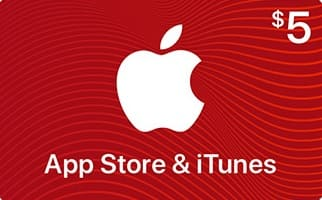 Select Retailers w/ Apple Pay: $5 App Store & iTunes Gift