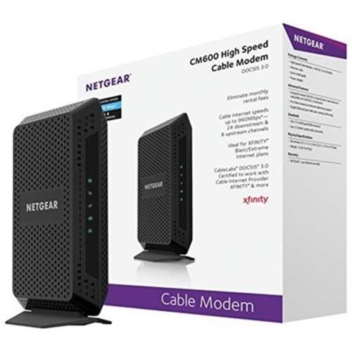 Staples Netgear CM600 Cable Modem $81.87