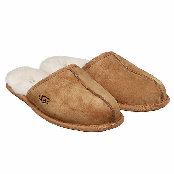 306a820c097 Costco Members: Ugg Men's Scuff Slipper (Brown or Tan) - Slickdeals.net