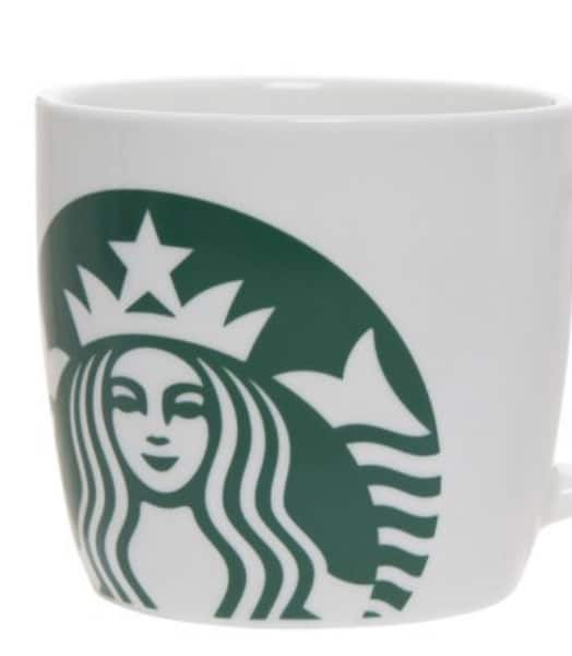Starbucks 14 Ounce Ceramic White Mug $3.61 at Walmart