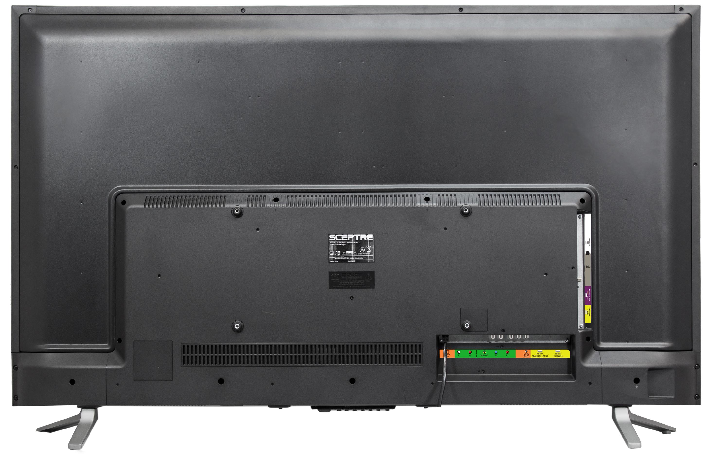 """Sceptre 55"""" Class 4K Ultra HD (2160P) LED TV (U550CV-U) $219 REG. $399 ON WALMART"""