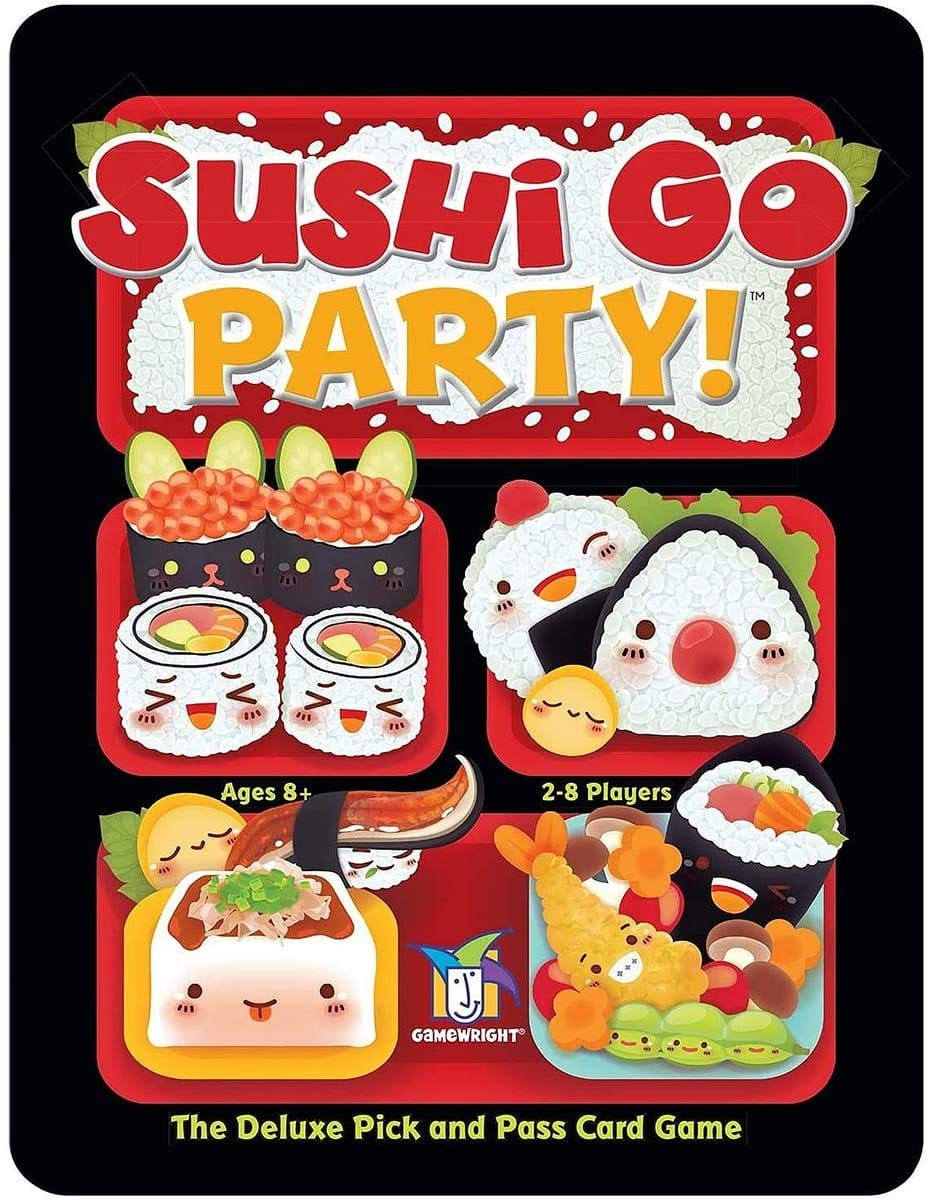 Sushi Go Party! - The Deluxe Pick & Pass Card Game, $13.99