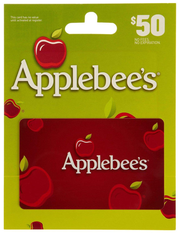 $50 Applebees Gift Card:: $40 @ Amazon (Lightning Deal)