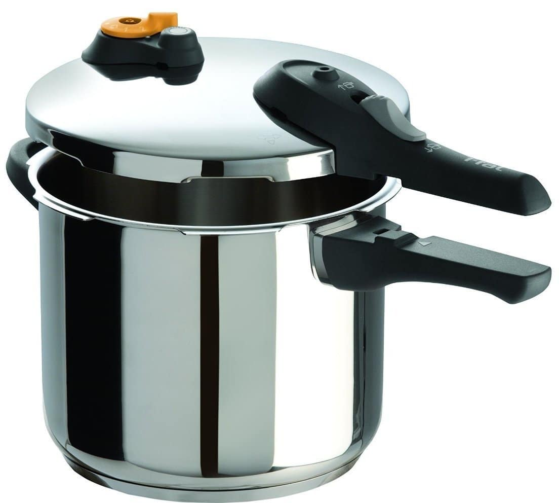 T-fal 6.3-Quart Stainless Steel Pressure Cooker 6.3-Quart (Silver):: $43.64 @ Amazon (Deal of the Day)