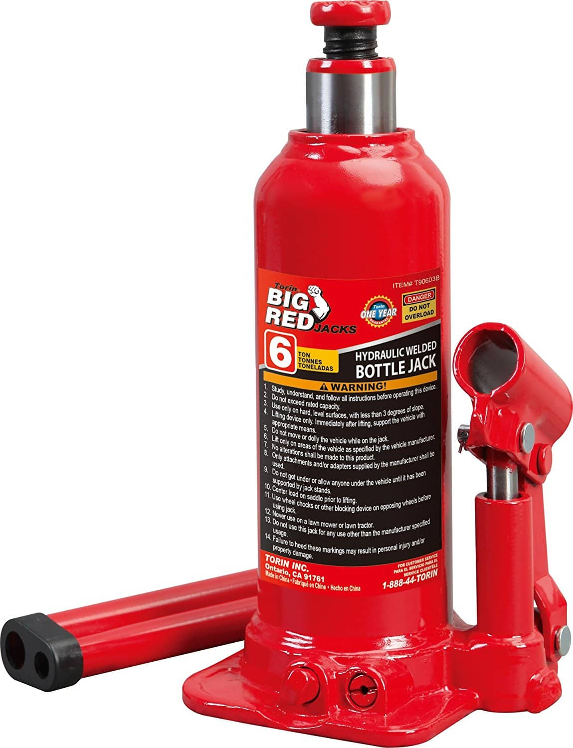 Torin Bottle Jack 20 Ton Capacity on sale 29.98 free shipping for prime members.