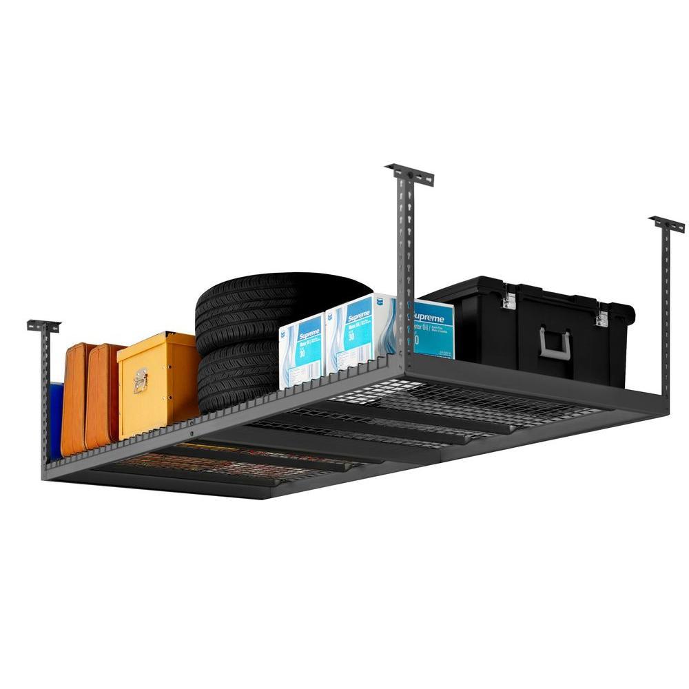 8ft x 4ft NewAge Adjustable Ceiling Storage Rack $109.20 after HOMEDEPOT10 Coupon Free Store Pickup