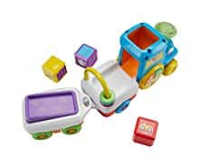 Baby Toddler toy Amazon:Fisher-Price Laugh & Learn First Words Crawl-Along Train $16.62
