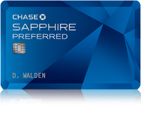 Chase Sapphire Preferred Credit card : 55k points after $3k spend. Woohoo!