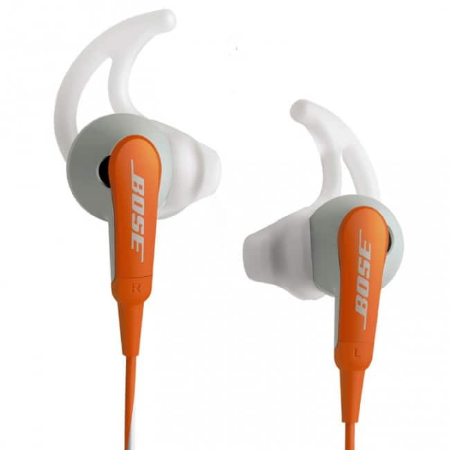 Bose SIE2I Sport In-Ear Headphones in Orange, refurbished, $49.99