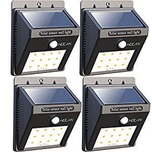12 LED Solar Lights, 4 Pack for $17.99 @Amazon