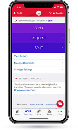 BofA: Use Zelle to transfer and get $10 FREE