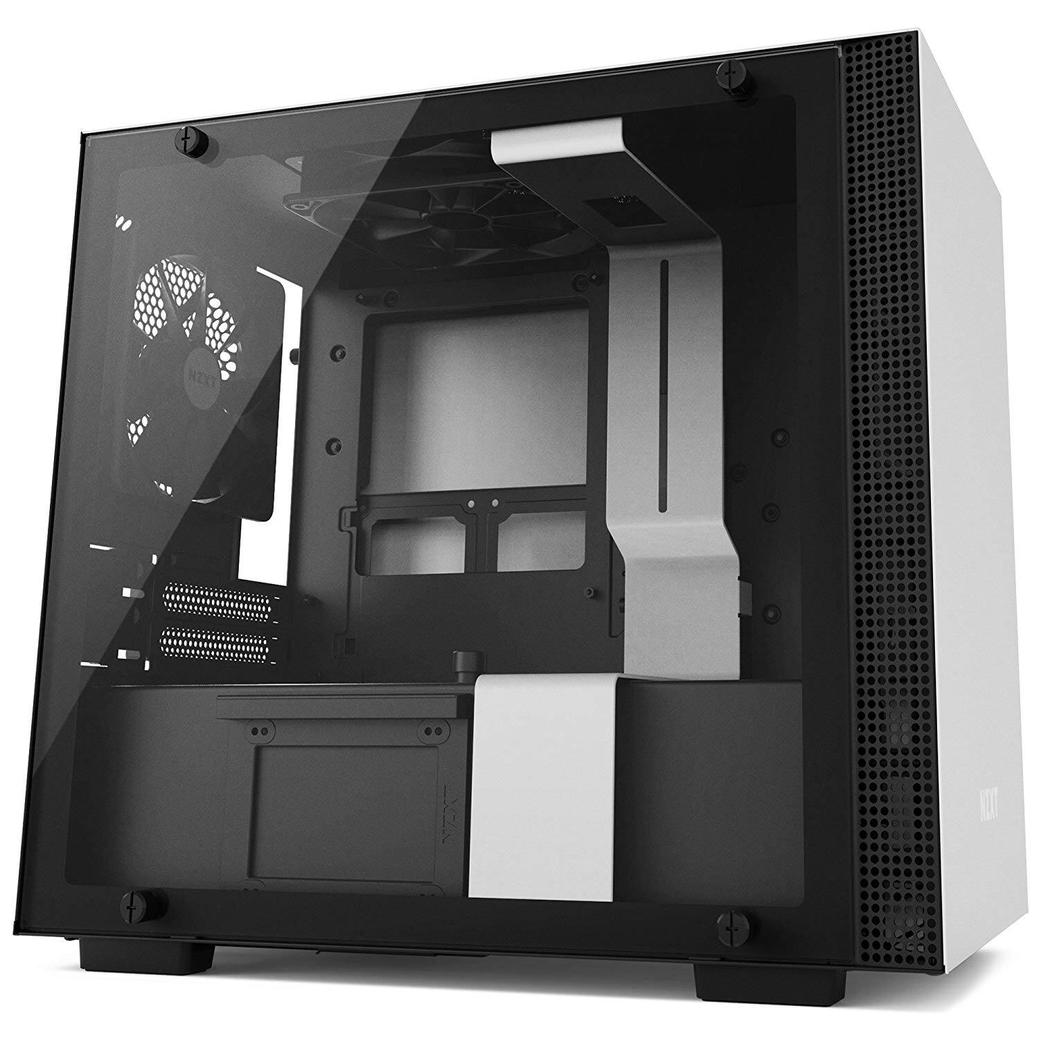 NZXT H200 - Mini-ITX PC Gaming Case - White - $59.98 @ Amazon