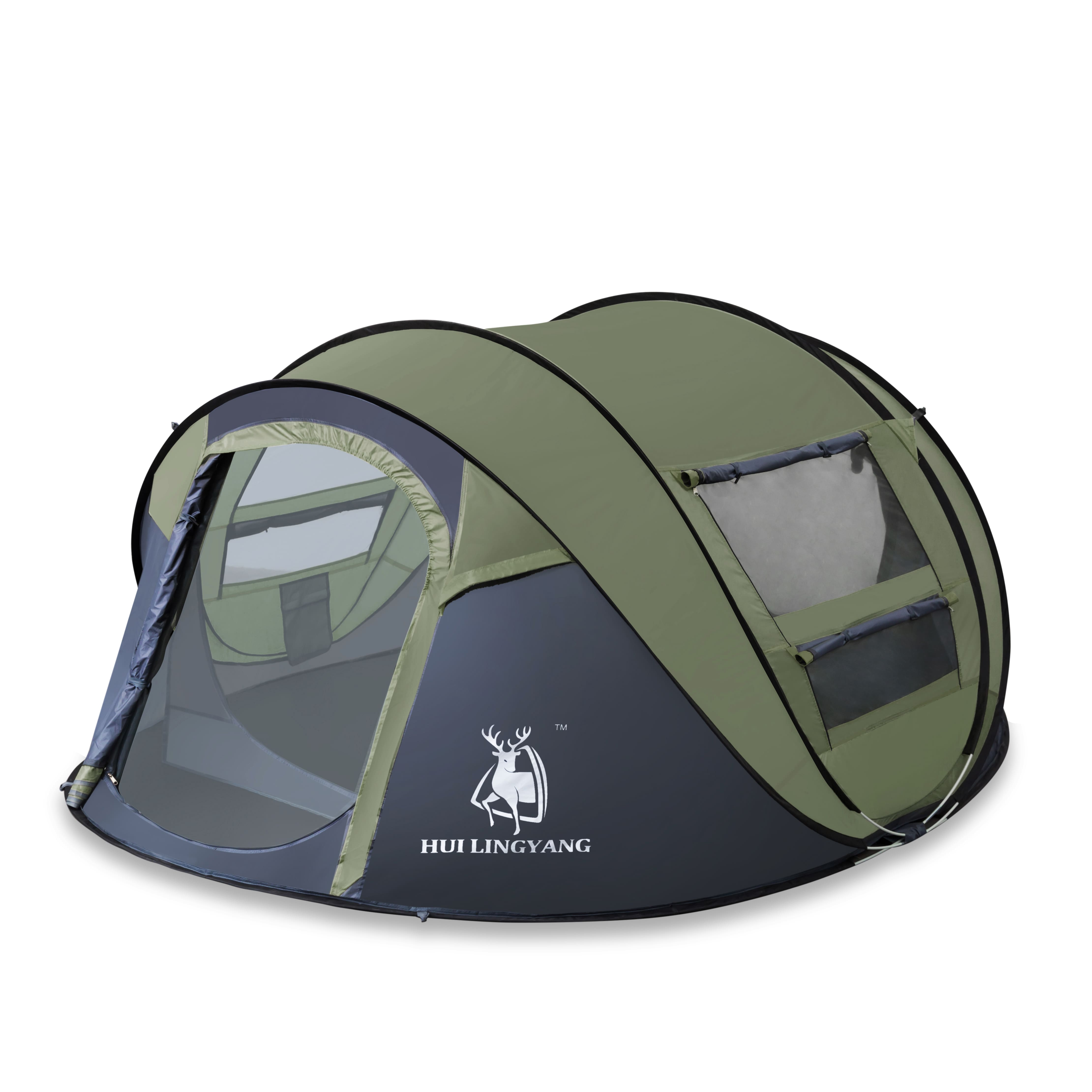 Amazon Lighting Deal Sale 4 Person Pop Up Camping Tent For $72.99 Save $53  42