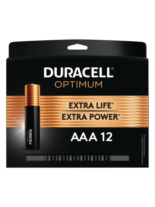 Duracell 12-Pack and 18-pack AA/AAA Optimum Batteries + 100% Back in Rewards @ Office Depot / OfficeMax