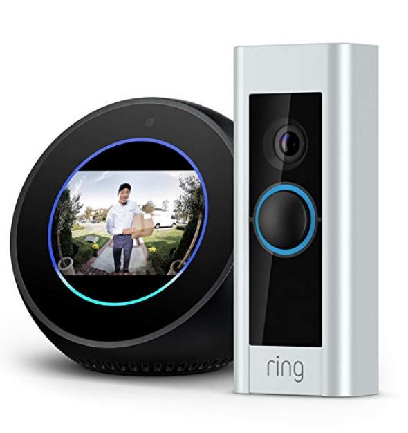 [Amazon] Echo Spot - Black + Ring Video Doorbell Pro $278