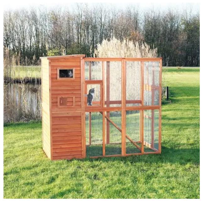 Outdoor Cat enclosure $364.28