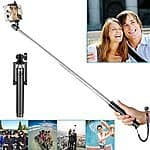 "Neewer 7""-31"" Selfie Stick w/ Bluetooth Remote Shutter iPhone 6 Plus/6/5s,Samsung Galaxy S6/S5, etc - $10 AC @ Amazon"