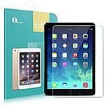 1byone Apple iPad mini 1/2/3 Glass Screen Protector, [Tempered Glass] HD Ballistic Glass w/ 9H Hardness - $11 AC @ Amazon