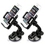 Etekcity 2pcs Universal Car Mount for iPhone 6/Plus/5/4S/4 Samsung Galaxy S6/S6 Edge/S5/S4/S3 Note 4/3 HTC One Google Nexus - $10 AC @ Amazon