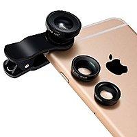 Amazon Deal: Breett 3-In-1 Lens Kit Clip-On Fisheye Lens + 0.67X Wide Angle + 10X Macro Lens - $6.99 AC @ Amazon