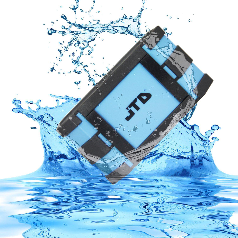 JTD Portable Bluetooth Wireless Speaker (Blue) 5W Strong Drive (Waterproof Shockproof and Dustproof) For $29.99 AC+FS @Amazon!