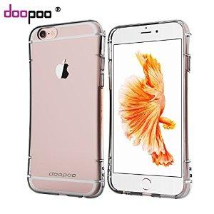 Apple iPhone 6 / 6S Clear Air Cushion Flexible TPU Shockproof Case, Crystal Clear - $4.99 AC @ Amazon.com