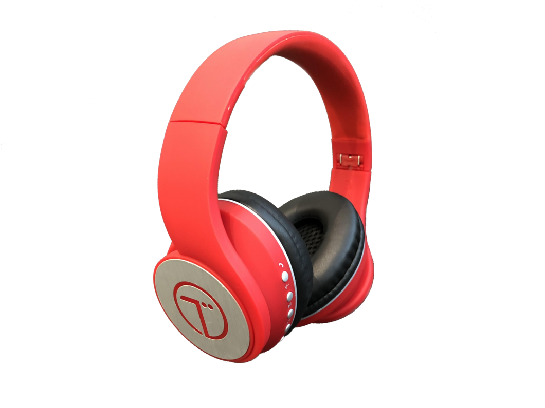FREE Wireless Headphones (RED) from Tunes Audio ($249.99 OFF) *Shipping is NOT FREE