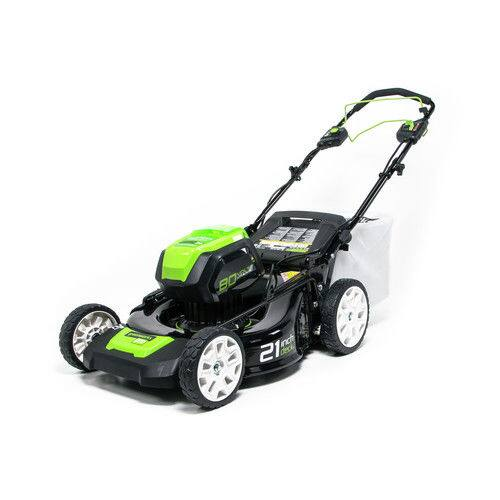 Greenworks Pro MO80L510 80V 21-Inch Self-Propelled Cordless Lawn Mower, 5Ah Battery and Charger Included---$$470.40+tax+Free S/H