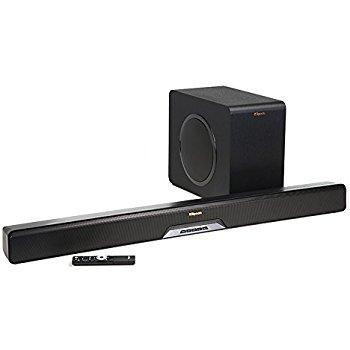 Klipsch Reference Series R-4B 2.1 Channel Sound Bar Originally $199 $129.99