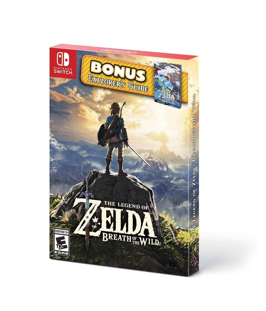 (Nintendo Switch games) Legend of Zelda: Breath of the Wild - $32.99++ and more