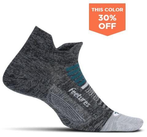 Feetures No Show Tab Socks $1.20 + $4.00 shipping (Select Colors) $5.20