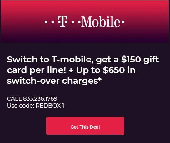 Join T Mobile And Get 150 Gift Card For Each New Line