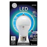 Target Deal: GE LED Light Bulbs 10.5w (60 Watt Equiv.) $2.85 EACH or LESS w/ RED CARD! (B&M Only / YMMV)