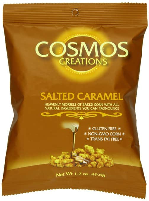 Cosmos Creations Baked Corn, Salted Caramel, 1.75 Ounce -- $1.19 @ Amazon, FS w/ Prime + Free $1 No-Rush shipping credit