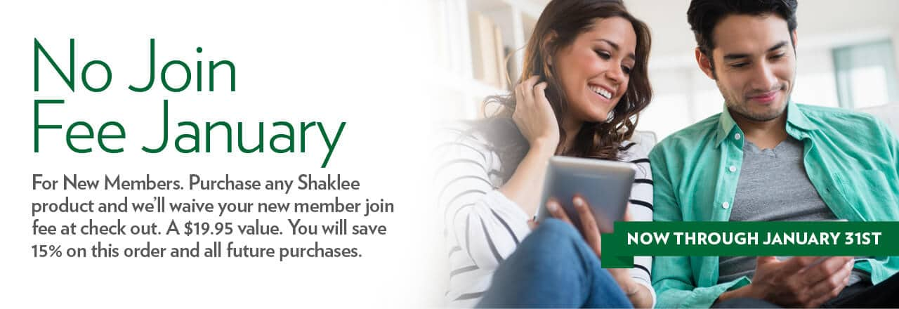 Free Membership Save 15% Off Lifetime On All Shaklee Products