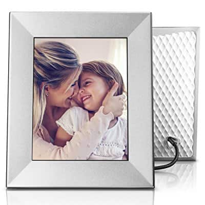 "Nixplay Iris 8"" Photo Frame Silver or Burnished Bronze Amazon Lightning Deal ($143.19 Silver, $131.99 Burnished Bronze) Good until 12/18/17 2:30pm EST"