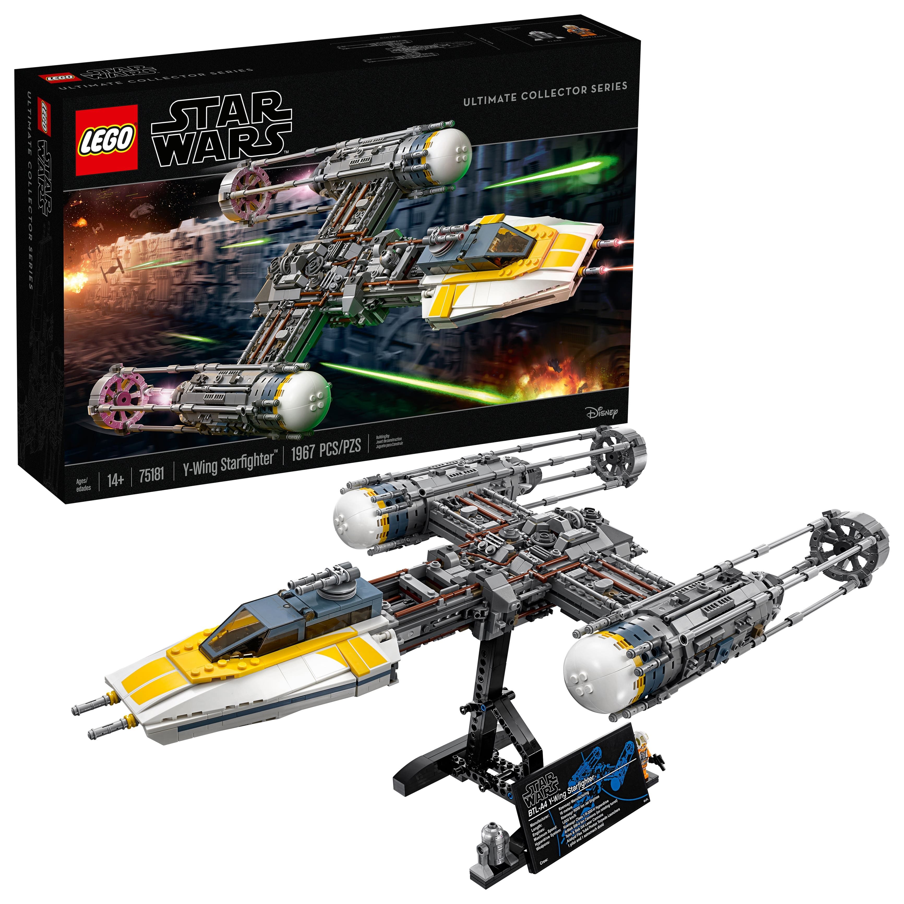 bc5a04e3cca90 LEGO Star Wars Y-Wing Starfighter (75181) - Slickdeals.net