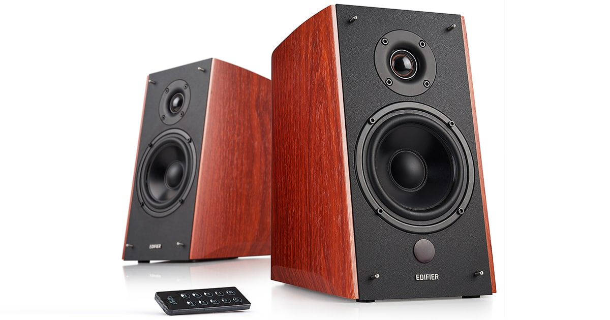Edifier R2000DB Bookshelf Speakers -  $199 ($50 off)