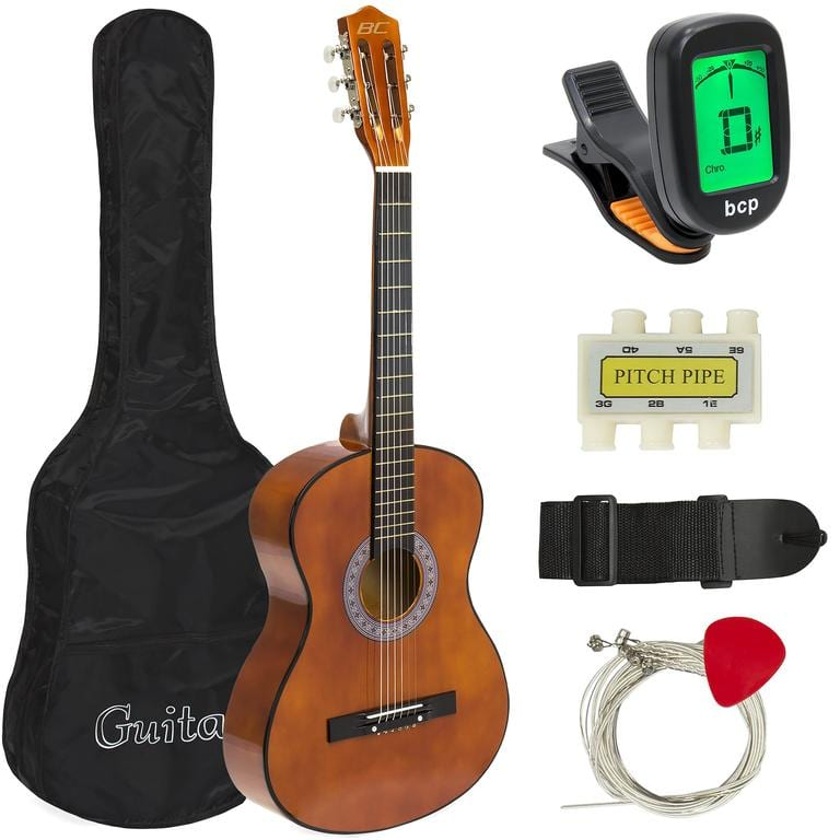 Beginner Acoustic Guitar Musical Instrument Kit for $39.99