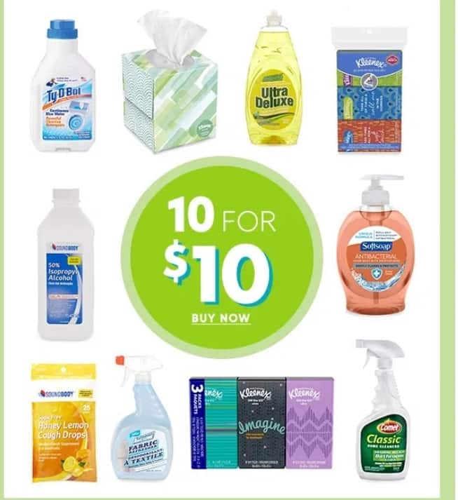 10 household essentials for $10