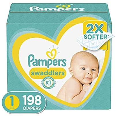 Diapers Newborn/Size 1 (8-14 lb), 198 Count - Pampers for $39.26